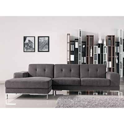 Taul Fabric Sectional Orientation: Left Hand Facing