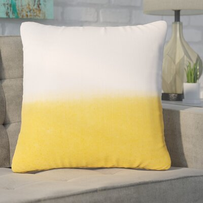 Hepworth Cotton Throw Pillow Color: Yellow