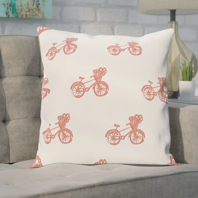 Chesser Geometric Print Outdoor Pillow Color: Seed, Size: 20 H x 20 W x 1 D