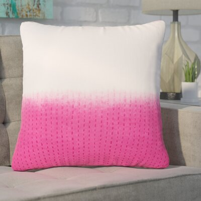 Hepworth Cotton Throw Pillow Color: Pink