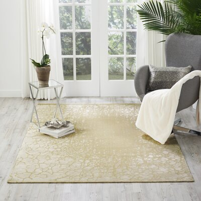 Onderdonk Cream Area Rug Rug Size: Rectangle 5'3