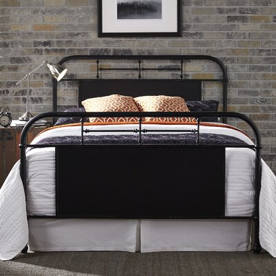 Cassiopeia Platform Bed Color: Black, Size: Queen