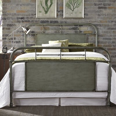 Cassiopeia Platform Bed Size: King, Color: Green