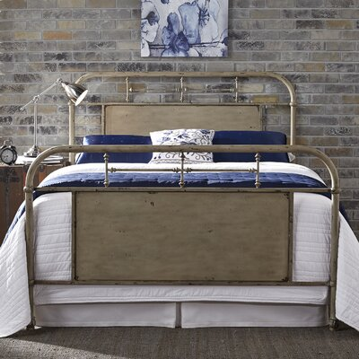 Cassiopeia Panel Bed Color: White, Size: Twin