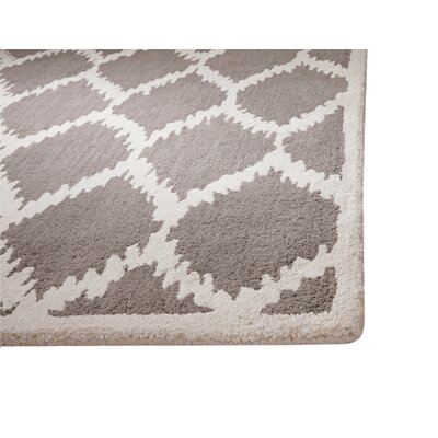 Atchley Riley Grey/Ivory Area Rug Rug Size: 8 x 10