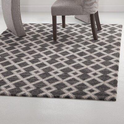 Tedrow Biege/Gray Area Rug Rug Size: 5 x 8