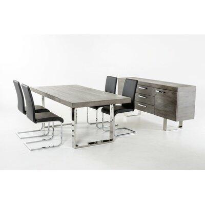 Bridge Street Dining Table Finish: Gray