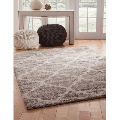 Teasley Ivory/Tan/Brown Area Rug Rug Size: 710 x 112