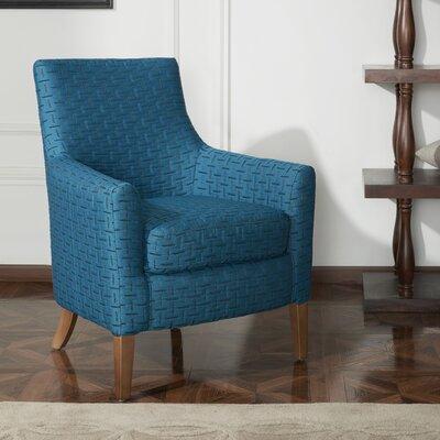 Clara Fabric Armchair Upholstery: Blue