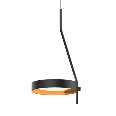 Tayler 1-Light LED Mini Pendant Finish: Satin White/White