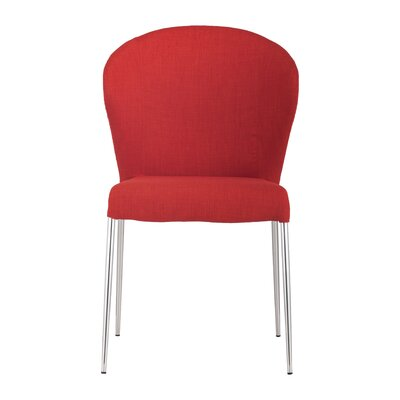 Mooneyhan Side Chair Upholstery: Tangerine