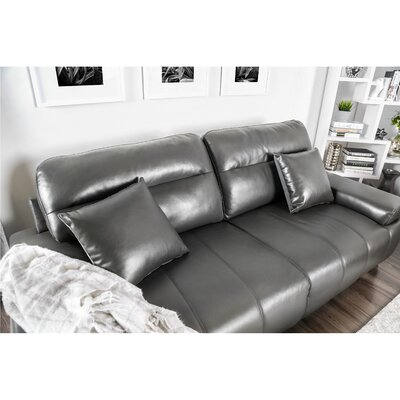 Tabitha Contemporary Sofa Upholstery: Gray