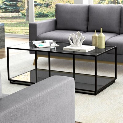 Janet Distressed 2 Piece Coffee Table Set