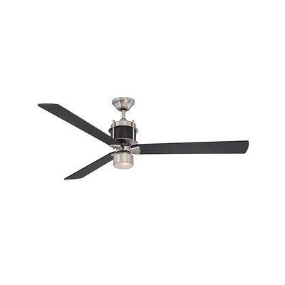 Brayden Studio Klotho 3-Blade Ceiling Fan