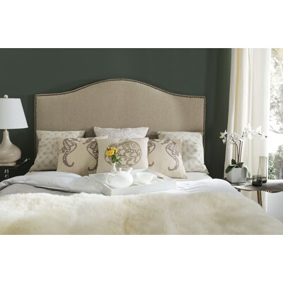 Connie Upholstered Panel Headboard Size: Queen