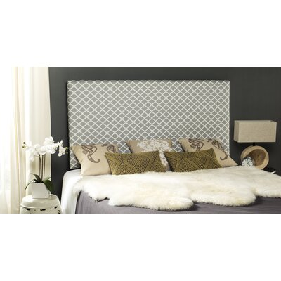 Collum Upholstered Panel Headboard Size: Queen