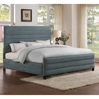 Luby Upholstered Platform Bed Size: California King