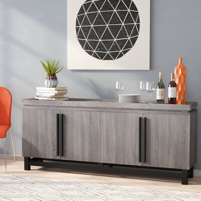 Eltingville Sideboard Color: Weathered Gray