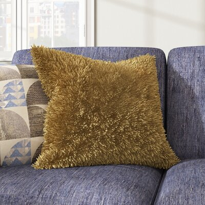 Gibson Throw Pillow Color: Yellow
