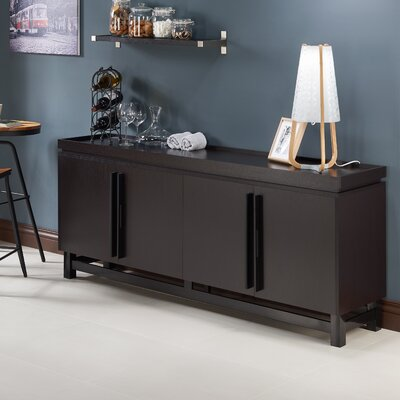 Eltingville Sideboard Color: Espresso