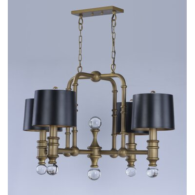 Bonomo 4-Light Drum Chandelier