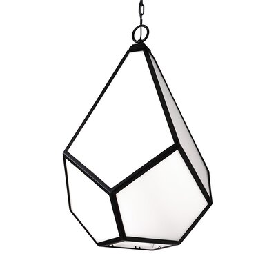 Bellino 1-Light Mini Pendant Finish: Black