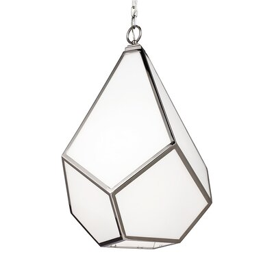 Bellino 1-Light Mini Pendant Finish: Polished Nickel