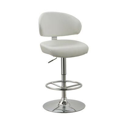Truax Adjustable Height Swivel Bar Stool