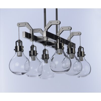 Durst 6-Light LED Kitchen Island Pendant