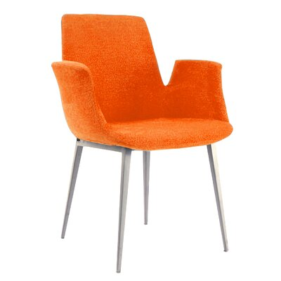 Kenia Arm Chair Upholstery: Orange
