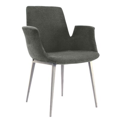Kenia Arm Chair Upholstery: Charcoal