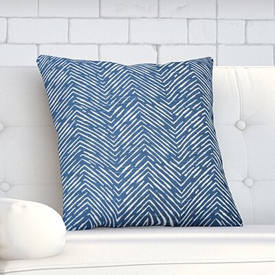 Dicken Throw Pillow Color: Premier Navy