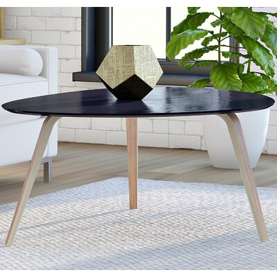 Ston Easton Coffee Table Size: Medium, Top Color: Ebony
