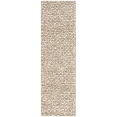 Rohan Hand-Tufted Beige Area Rug Rug Size: Runner 23 x 8