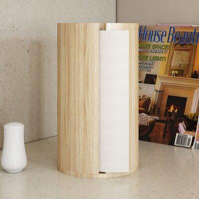 Brayden Studio Wood Paper Towel Holder
