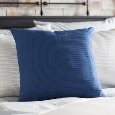Caplin Catoe Outdoor Throw Pillow Size: 16 H x 16 W x 4 D, Color: Cobalt
