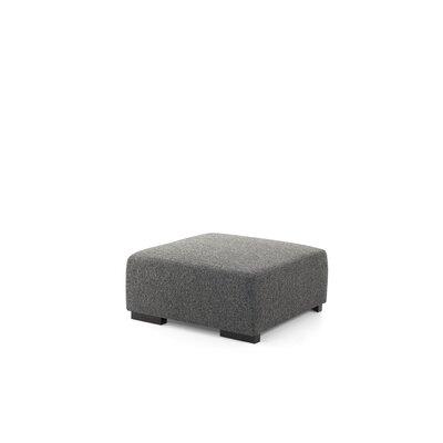 Roseman Ottoman Upholstery: Dark Gray