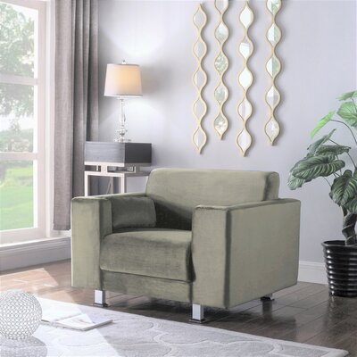 Woosley Armchair Upholstery: Taupe