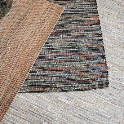 Nemec Hand-Woven Ecru Area Rug Rug Size: 9 x 12