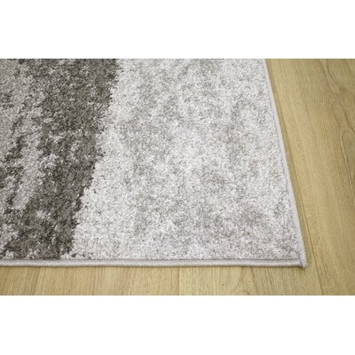 Benn Gray Area Rug Rug Size: 710 x 106