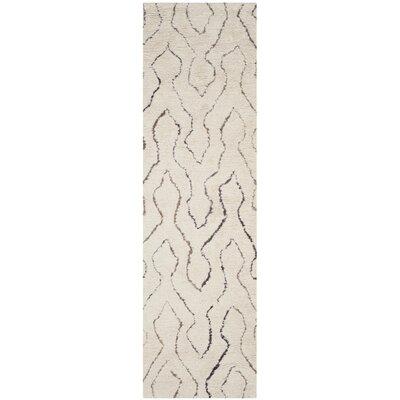 Elderton Ivory Area Rug Rug Size: Runner 23 x 8
