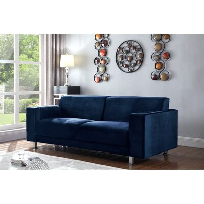 Woosley Sofa Finish: Navy