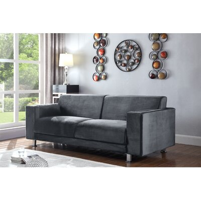 Woosley Sofa Finish: Grey