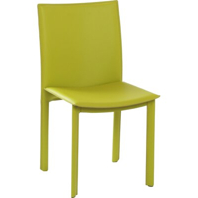 Berggren Side Chair Color: Green