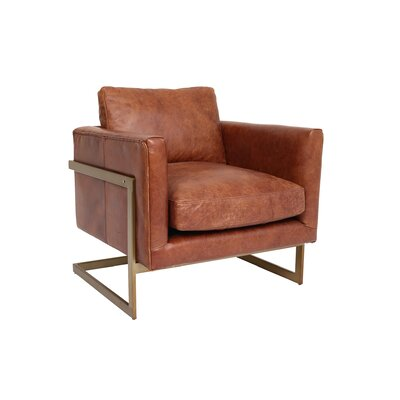 Cavin Leather Lounge Chair
