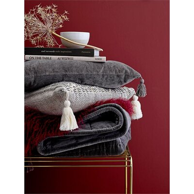 Chantilly Quilted Cotton Throw