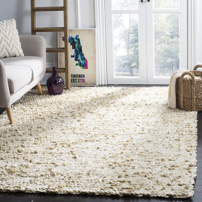 Sinope Ivory Area Rug Rug Size: Rectangle 6 x 9