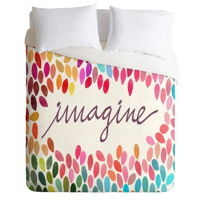 Imagine Duvet Cover Size: Queen, Fabric: Lightweight