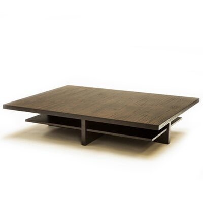 Bamboo Coffee Table Color: Burnt Red