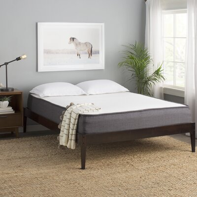 Smoak Platform Bed Finish: Cappuccino, Size: Queen